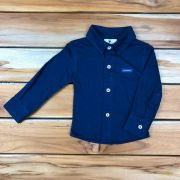 Camisa Social Baby Azul