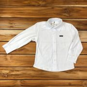 Camisa Social Kids Branca