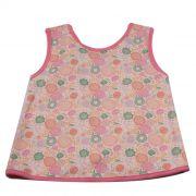 Camiseta Bata Baby Salmão
