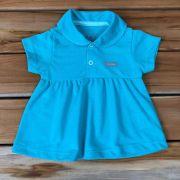 Camiseta Bata Curta Baby Verde