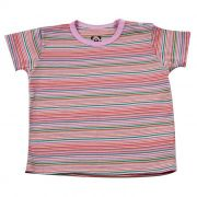 Camiseta Curta Baby Colorida