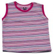 Camiseta Curta Baby Rosa
