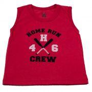 Camiseta Curta Kids Vermelha