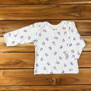 Camiseta Longa Baby Branca