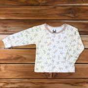 Camiseta Longa Baby Cru