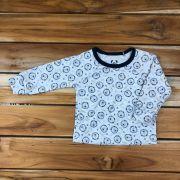 Camiseta Longa Baby Mescla