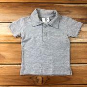Camiseta Polo Curta Mescla
