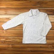 Camiseta Polo Longa Mescla