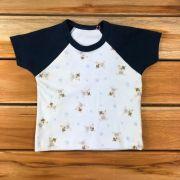 Camiseta Regata Baby Azul