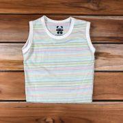 Camiseta Regata Baby Cru