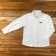Camiseta Social Branca