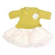 Conjunto Curto Baby Amarelo kox