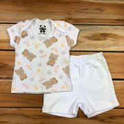 Conjunto Curto Baby Branco
