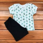 Conjunto Curto Baby Verde