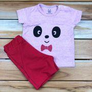 Conjunto Curto Baby Vermelho