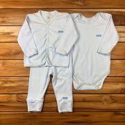 Conjunto Longo Baby Azul
