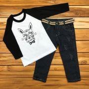 Conjunto Longo Kids Jeans