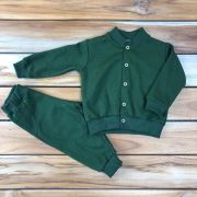 Conjunto Moletom Baby Verde