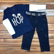 CÓPIA - Conjunto Longo Kids Jeans