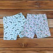 Kit 2 Shorts Kids