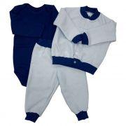 Kit Baby 3 Pçs Azul