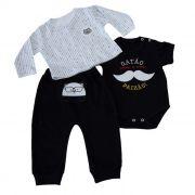 Kit Baby 3 pçs Preto