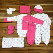 Kit Saída Maternidade Pink - 9 peças