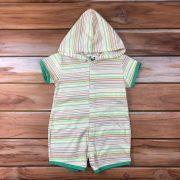 Macacão Curto Baby Verde
