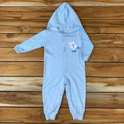 Macacão Longo Baby Azul