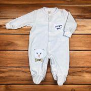 Macacão Longo Baby Azul de Plush