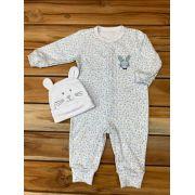 Macacão Longo Baby Branco