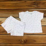 Pijama Curto Baby Branco