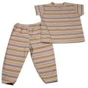 Pijama Longo Baby Amarelo
