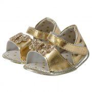 Sandália Baby Dourada