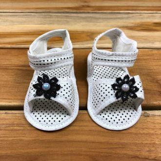 Sandália Bebê Branca