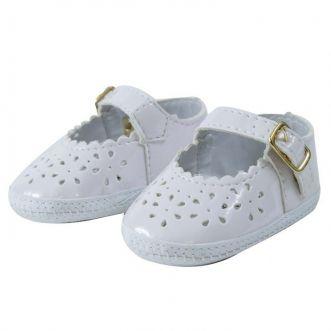 Sapato bebê Branco