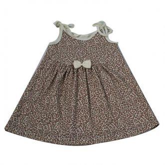 Vestido Infantill Creme