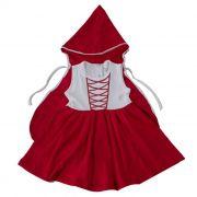 Vestido Kids Temático  Chapeuzinho