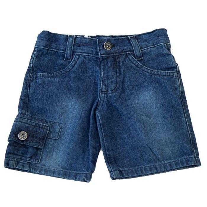 Bermuda Infantil Jeans