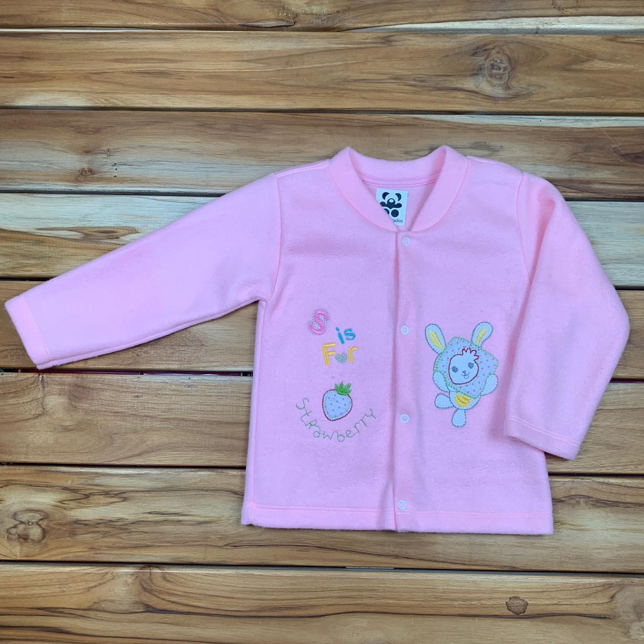 Blusa Soft Infantill Rosa