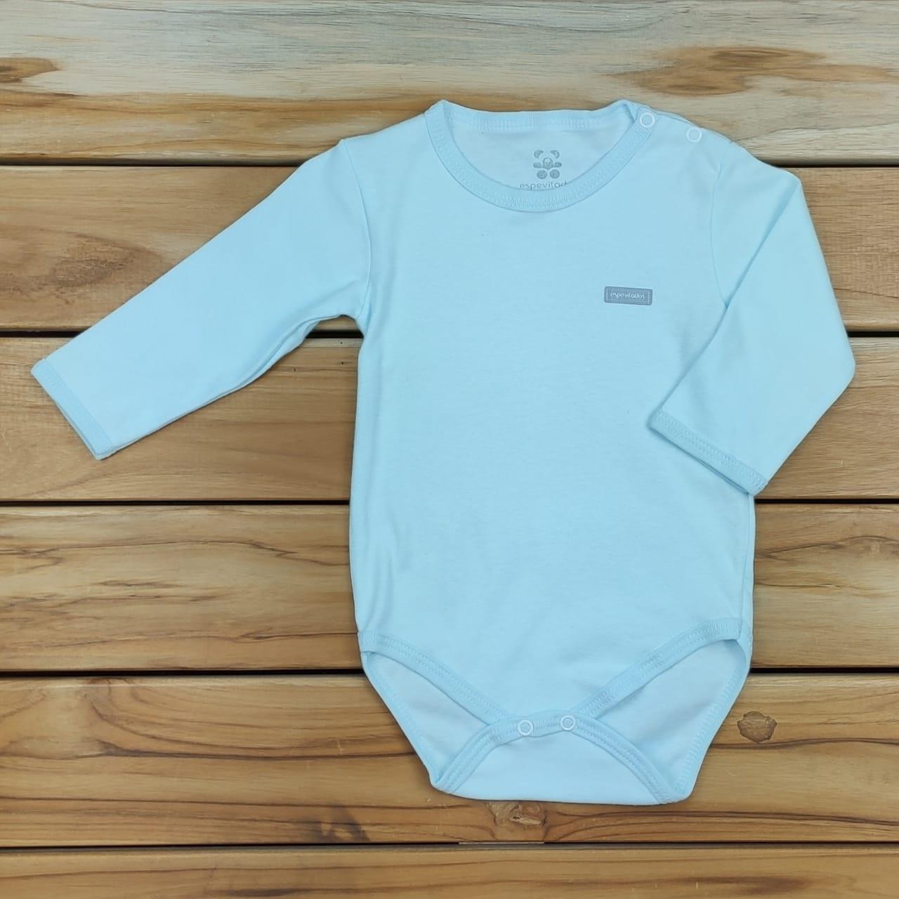 Body Bebê Longo Liso Verde