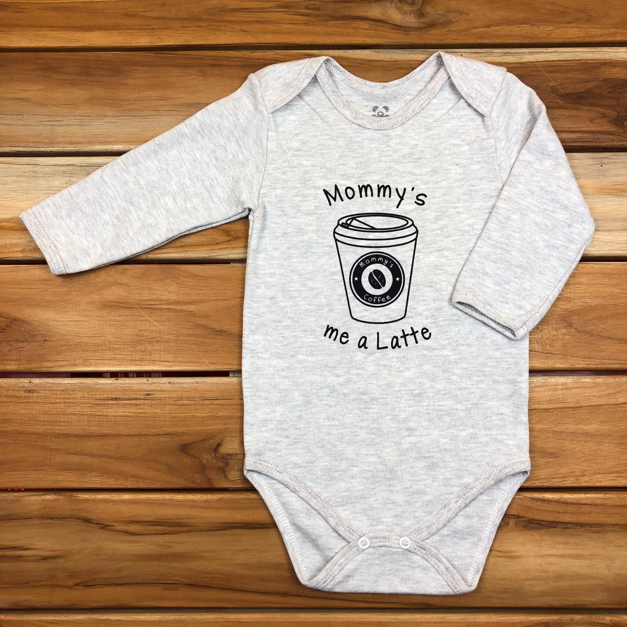 Body Longo Bebê Mescla