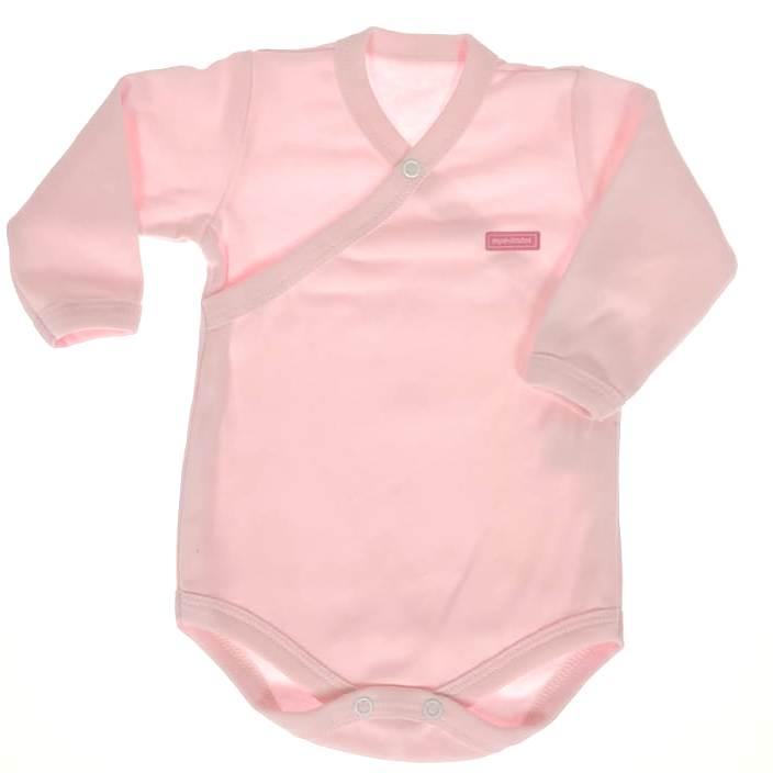 Body Longo bebê Rosa
