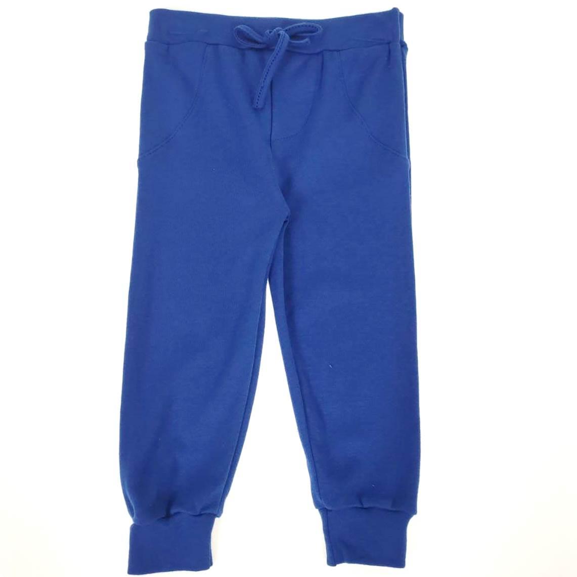 Calça Azul Royal Lisa