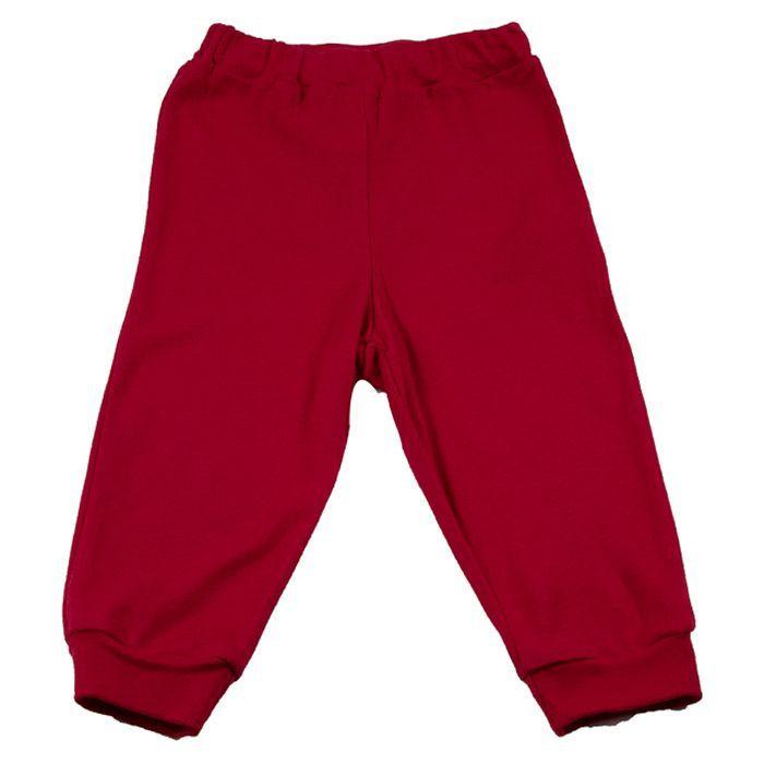 Calça Bebê Vermelha
