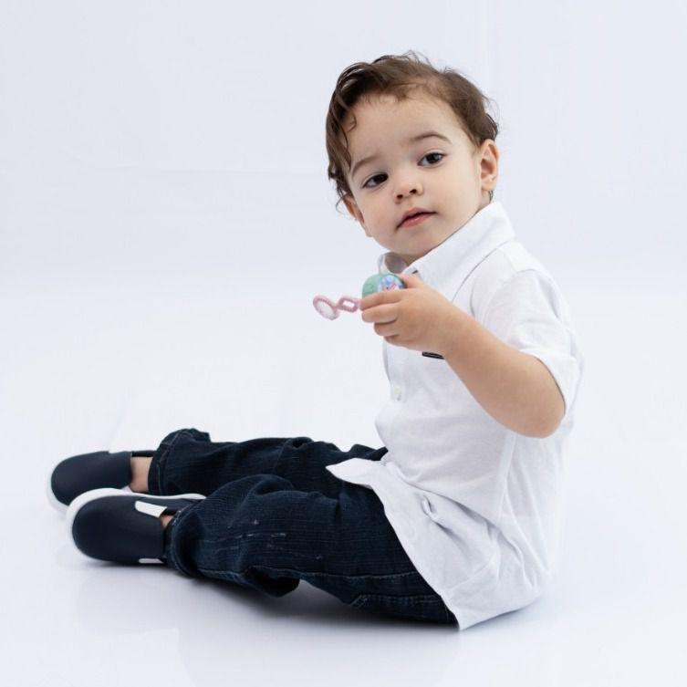 Calça Jeans Infantill Azul Escuro