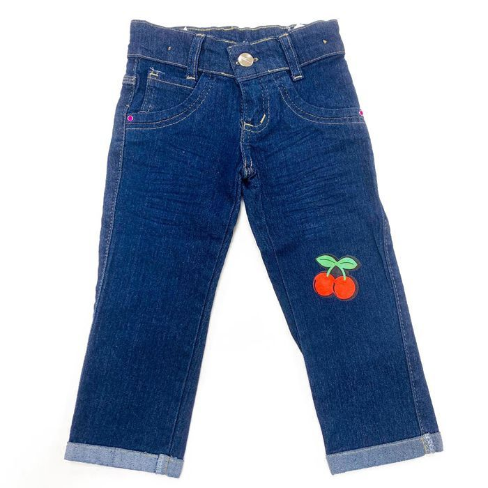 Calça Jeans Infantil Azul Escuro