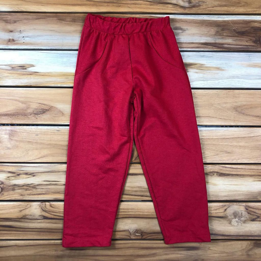 Calça Infantill Vermelha