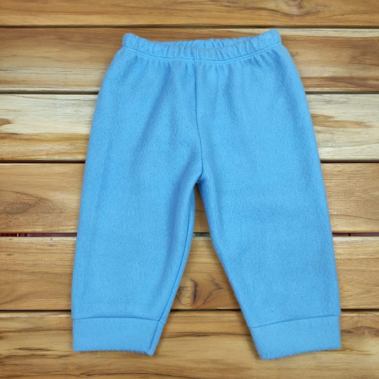 Calça Soft Azul Lisa