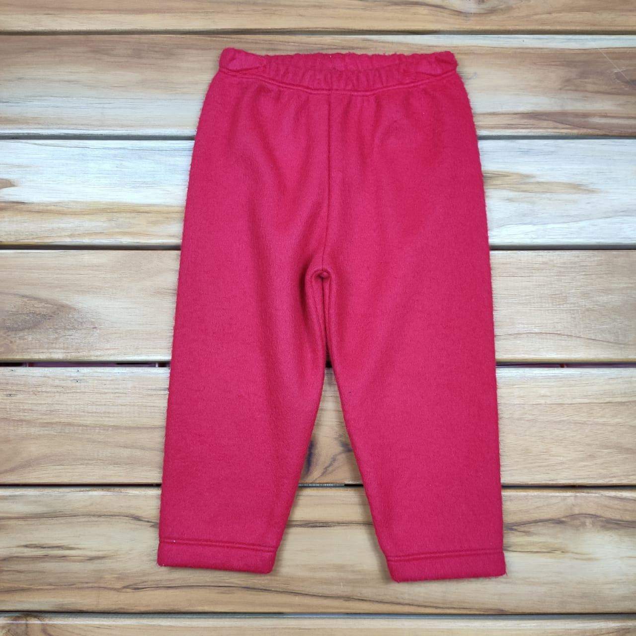 Calça Soft Vermelha Lisa